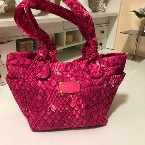 Marc Jacobs beautiful hot pink soft workwear bag